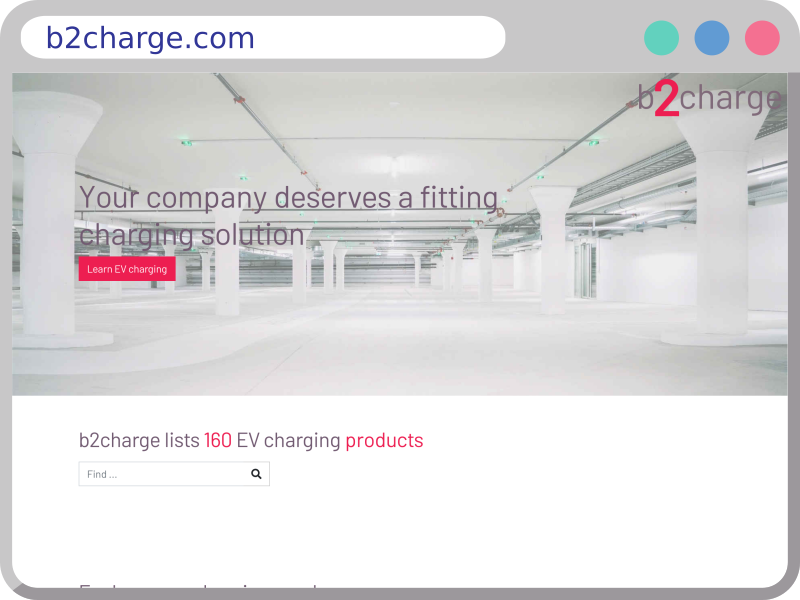 Screenshot of b2charge.com